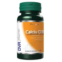 Calciu + Vitamina D3 DVR Pharm 60cps