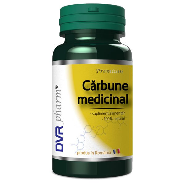 Carbune Medicinal 60cps DVR PHARM