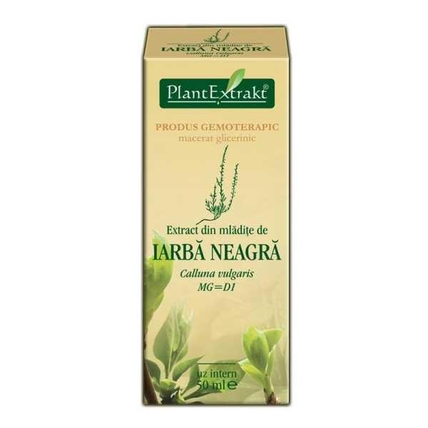 Extract Iarba Neagra 50ml PLANTEXTRAKT