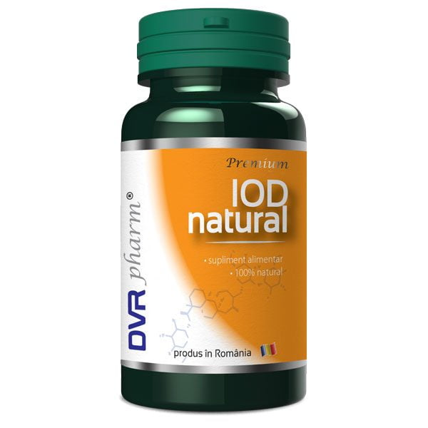 Iod Natural DVR Pharm 60cps