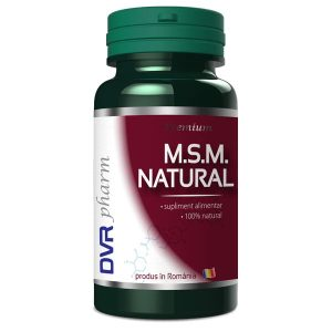 MSM Natural DVR Pharm 90cps