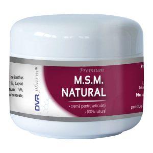MSM Natural DVR Pharm Crema 75ml