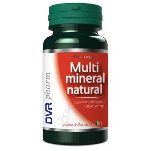 Multimineral Natural DVR Pharm 60cps