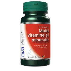 Multi Vitamine si Minerale DVR Pharm 60cps