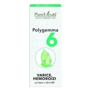 Polygemma 6 Varice si Hemoroizi Plantextrakt 50ml