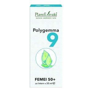 Polygemma 9 Plantextrakt Femei 50+ 50ml