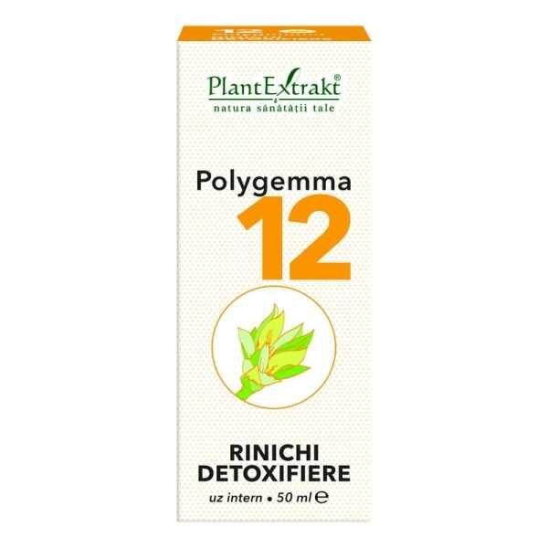 Polygemma nr. 12 50ml (Rinichi Detoxifiere) PLANTEXTRAKT