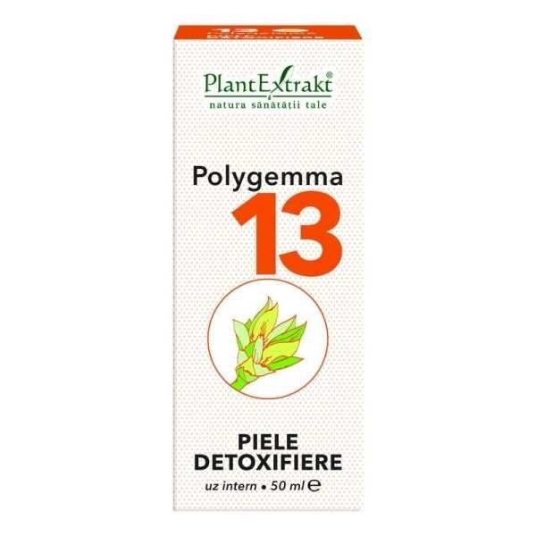 Polygemma nr. 13 50ml (Piele Detoxifiere) PLANTEXTRAKT