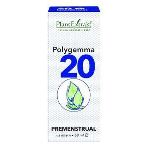 Polygemma nr. 20 (Premenstrual) Plantextrakt 50ml