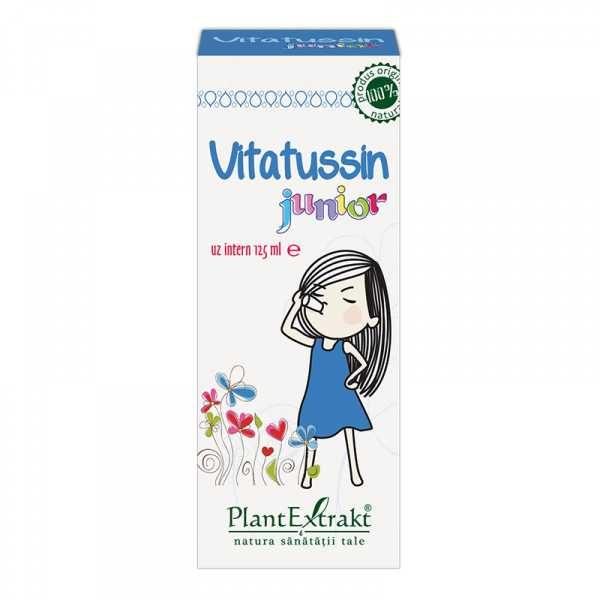 Vitatussin Junior 125ml PLANTEXTRAKT
