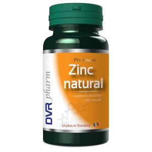 Zinc Natural DVR Pharm 60cps