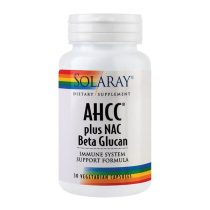 AHCC Plus Nac & Beta Glucan Secom Solaray 30cps