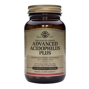 Advanced Acidophilus Plus Solgar Probiotice 60cps
