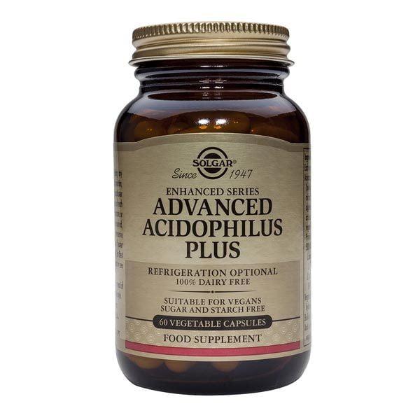Advanced Acidophilus Plus (Probiotice) Solgar 60cps