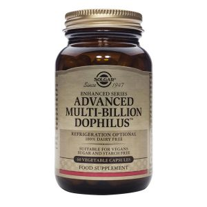 Advanced Multi billion Dophilus Solgar 60cps