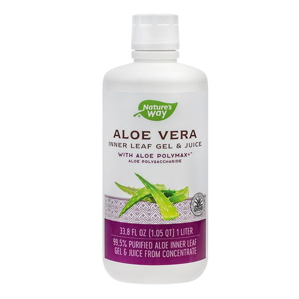 Aloe Vera Gel & Juice 1l Nature'S Way SECOM