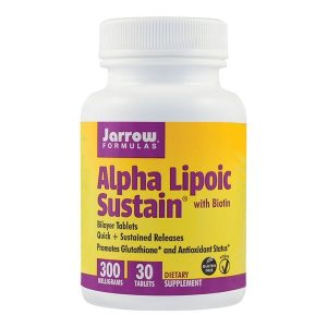 Alpha Lipoic Sustain Secom 300 Mg Jarrow Formulas 30tb