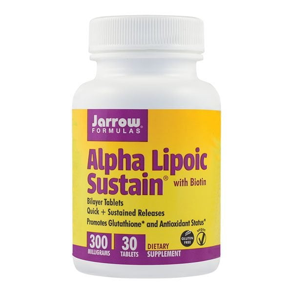 Alpha Lipoic Sustain 300Mg 30cpr JARROW FORMULAS SECOM