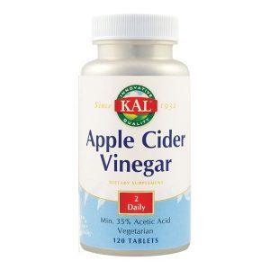 Apple Cider Vinegar (Otet din cidru de mere) 500Mg Secom KAL 120cps