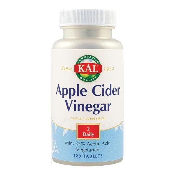 Apple Cider Vinegar (Otet din cidru de mere) 500Mg 120cps KAL SECOM