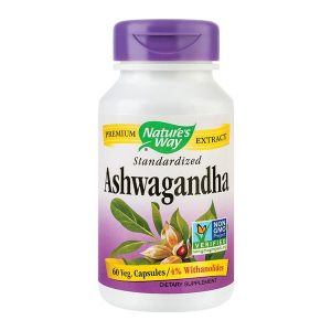Ashwagandha Secom 500Mg Nature's Way 60cps
