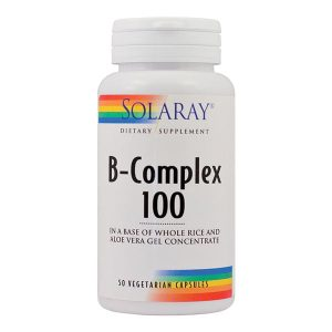 B-Complex 100Mg Secom Solaray 50cps