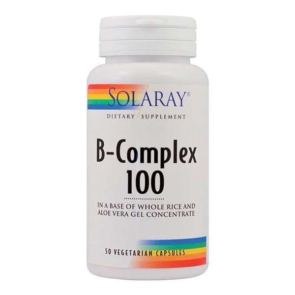 B-Complex 100Mg 50cps Solaray SECOM