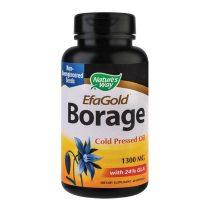 Borage EfaGold 1300Mg Nature's Way Limba mielului Secom 60cps