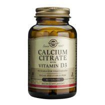 Calcium Citrate 250mg cu D3 60tb (Citrat de Calciu cu Vit. D3) Solgar 60tb