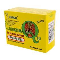 Coenzima Q10 Hofigal + Ulei Catina Forte 30mg 40cps