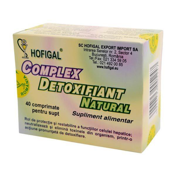 Complex Detoxifiant 40cpr HOFIGAL