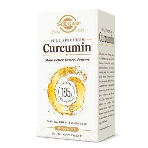 Curcumin Full Spectrum Solgar 30cps