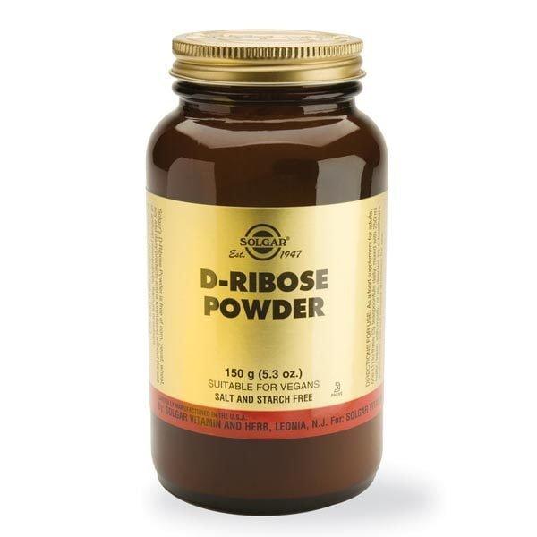 D-Ribose Powder 150g (D-Riboza) SOLGAR