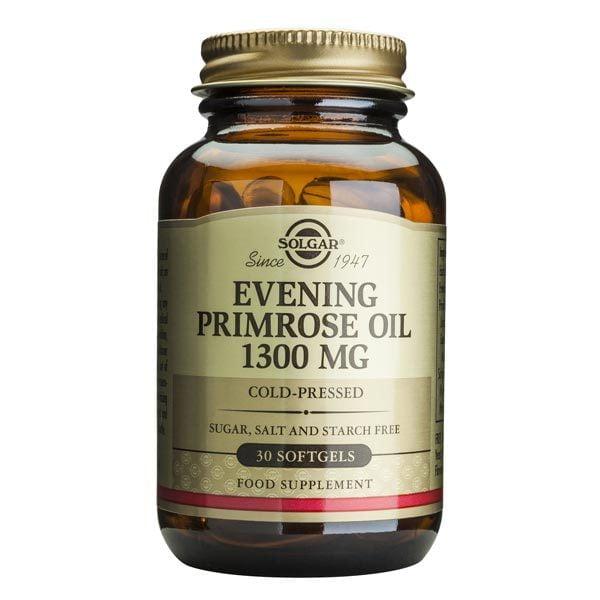 Evening Primrose Oil 1300mg (Ulei de luminita noptii) Solgar 30cps