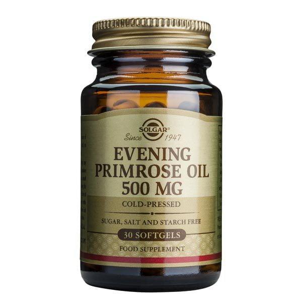 Evening Primrose Oil 500mg (Ulei de luminita noptii) Solgar 30cps