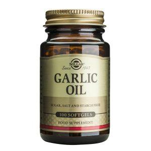 Garlic Oil Ulei de usturoi Solgar 100cps