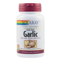 Garlic Secom (Usturoi) 500Mg Solaray 60cps