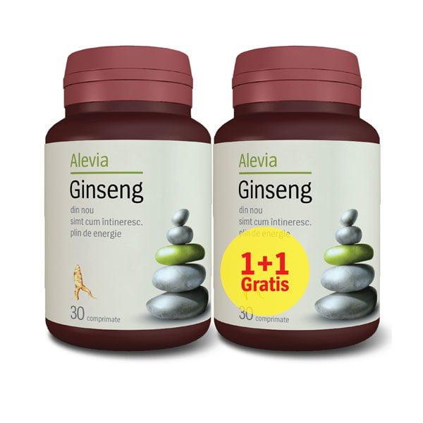 Ginseng Siberian 30cpr 1+1 Gratuit ALEVIA