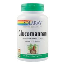 Glucomannan Secom Solaray 600Mg 100cps
