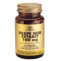 Grape Seed Extract Solgar 100mg (Seminte de struguri) 30cps