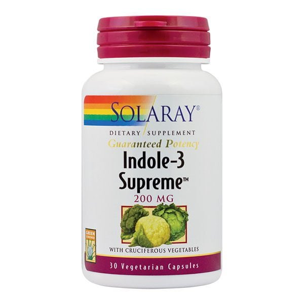 Indole-3 Supreme 30cps Solaray SECOM