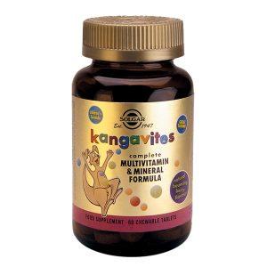 Kangavites Solgar Multivitamin & Mineral Formula Berry 60cps