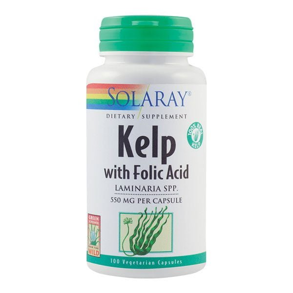 Kelp Secom Solaray 550Mg 100cps