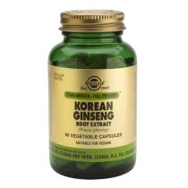 Korean Ginseng Root Extract Ginseng coreean Solgar 60cps