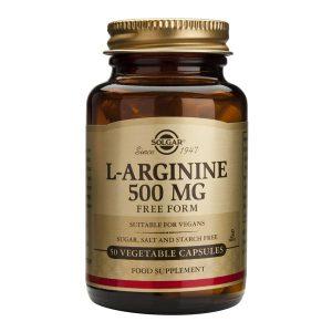 L-Arginine Solgar 500mg 50cps