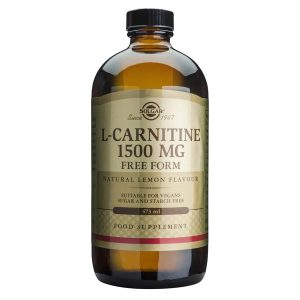 L-Carnitine L-Carnitina Solgar 1500mg 473ml