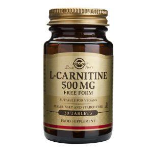 L-Carnitine (L-carnitina) 500mg Solgar 30cps