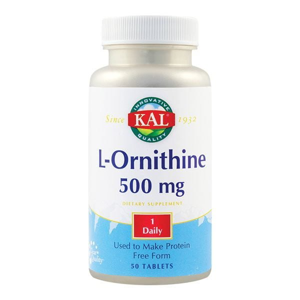 L-Ornithine 500 Mg Secom KAL 50tb