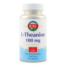 L-Theanine KAL L-Teanina Secom 100Mg 30tb