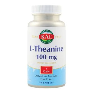 L-Theanine 100Mg (L-Teanina) Secom KAL 30tb
